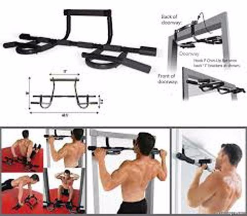 Iron Gym Pull Up Bar Alat Fitness Olah Raga Pembentuk Otot Tubuh As Seen On TV - 313