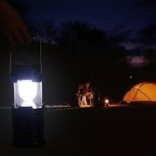 Lampu Lentera Solar Emergency Lamp | Lampu Darurat Cas Charger Power Bank � 657