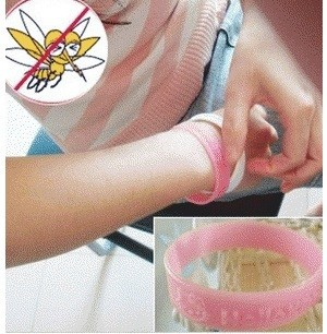 Gelang Anti Nyamuk Hello Kitty Silikon Tebal - 750