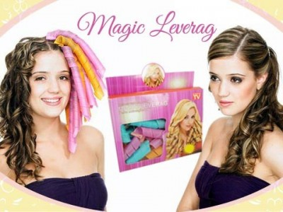 Magic Leverag Hair Alat Curly Keriting Rambut Manual Leverage As Seen On TV - 369