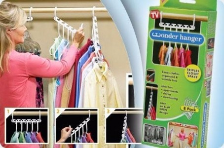 Wonder Hanger 8 in 1 Gantungan Baju Ajaib Harga Murah As Seen On TV - 443