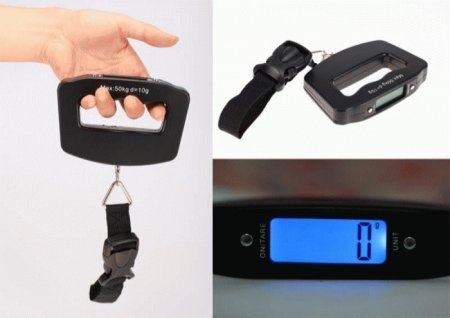 Timbangan Koper Digital Surabaya Murah | Luggage Weight Scale - 070