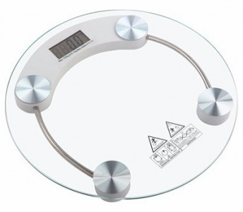 Timbangan Badan Digital Murah Personal Weight Scale diameter 33 cm - 023