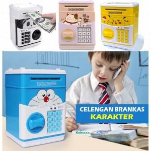 Celengan Brankas Karakter | Celengan ATM Generasi Kedua Hello Kitty Doraemon Minion - 645 ...