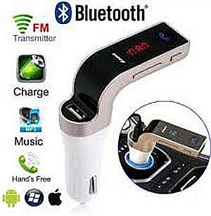 Modulator G7 Bluetooth Transmitter Saver Car Charger Mobil Lighter Wireless Handsfree FM Radio – 522