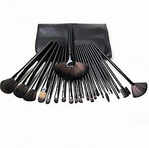 Kuas Make Up Set 24 Lengkap Plus Pouch Brush Makeup Alat Rias Wajah Cantik - 696