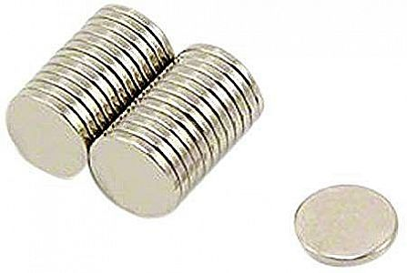 Magnet Neodymium Coin Diameter 8 mm Diameter 2 mm Kuat Super Strong – 802