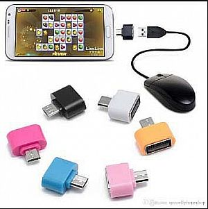 OTG Mini Micro USB Adapter Handphone Hp Smartphone On The Go Adaptor – 517