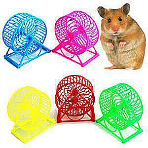 Mainan Hamster Kincir Wheel Spinner Roda Tikus Latihan Lari Joging Olahraga Pet Runner – 551