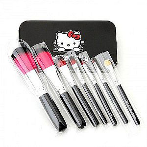 Kuas HK Set 7 Kuas Hello Kitty Make Up Peralatan Makeup Brush Cantik – 526